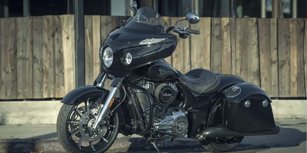 Indian® Chieftain® Limited - JANTES TRABALHADAS CHAMATIVAS DE 19""