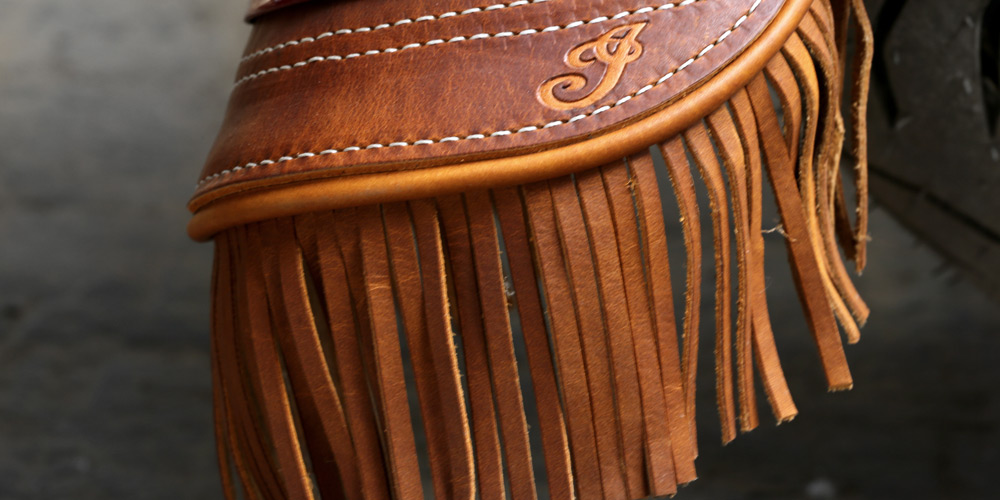 Indian® Chief® Vintage - FRANJAS EM COURO