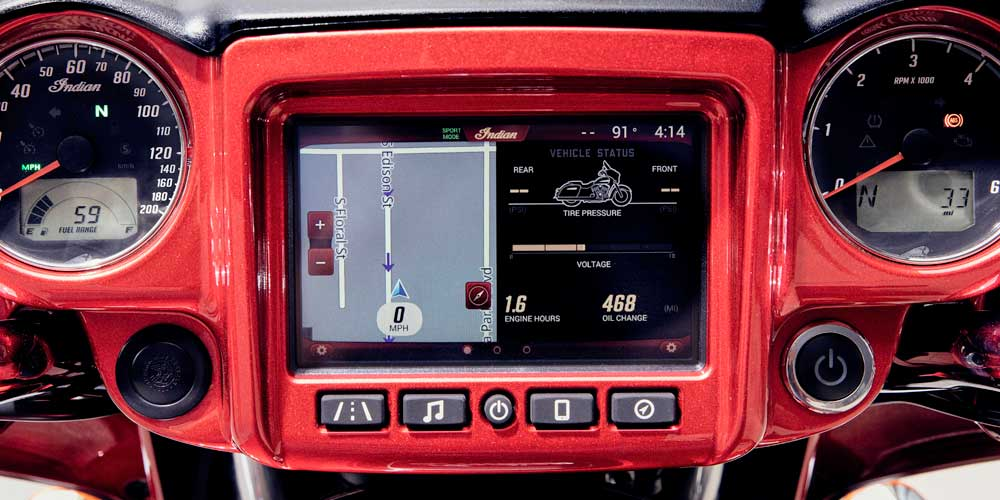 Sistema Indian Motorcycle® Ride Command